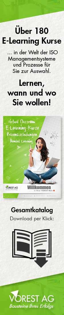 E-Learning Kurse der VOREST AG - E-Learn Katalog Download